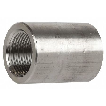 "3/8"" FNPT SS Coupling"