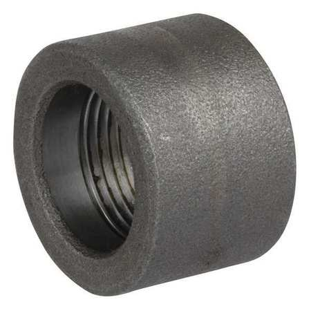 Half Coupling, 1/2 In, 316 Stainless Steel