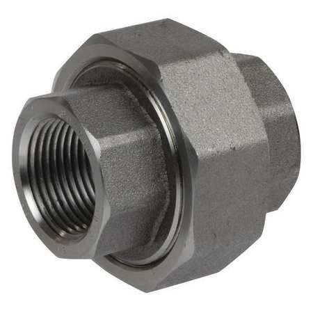 "3/8"" FNPT SS Threaded Union"