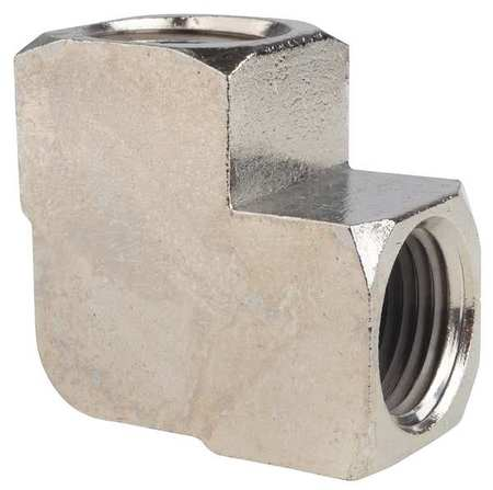 "1/2"" FNPT Chrome Plated Brass 90 Degree Elbow"