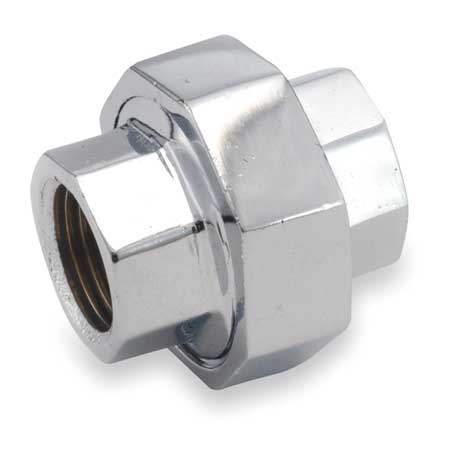 "1/8"" FNPT Chrome Plated Brass Union"