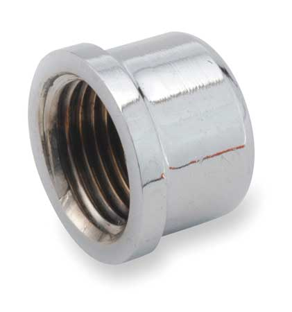"1"" FNPT Chrome Plated Brass Cap"