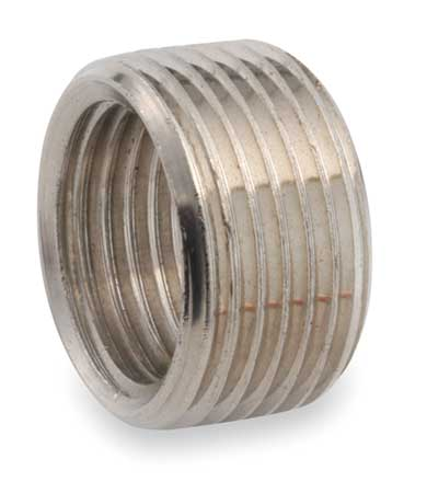 "3/4"" FNPT x 1/2"" MNPT Chrome Plated Brass Bushing"