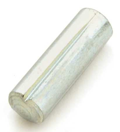 5/16 x 1 Grooved Pin,  Type A,  Steel,  Zinc Plated