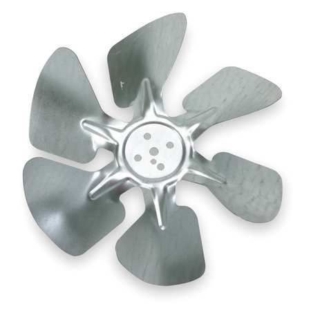 Propeller, Dia 8 In, Hub Less Bore Dia