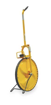 Measuring Wheel, Pro, 4 Ft, Solid, 99, 999 Ft