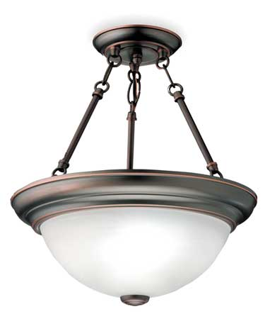 Light Fixture, 36W, 120V, Black Bronze