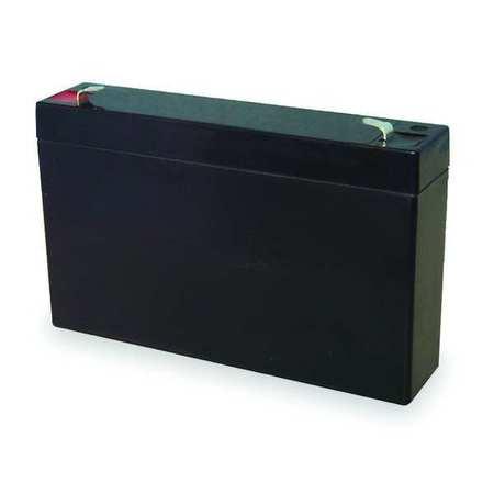 Battery, Sealed Lead Acid, 6V, 7Ah, Faston