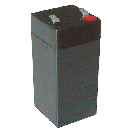 Battery, Sealed Lead Acid, 4V, 4.5Ah, Faston