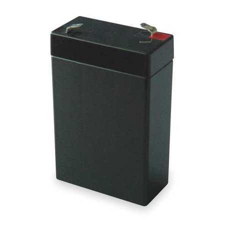 Battery, Sealed Lead Acid, 6V, 2.8Ah, Bolt