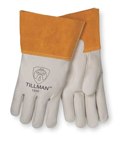 Welding Gloves, MIG, XL, 12 In. L, Wing, PR