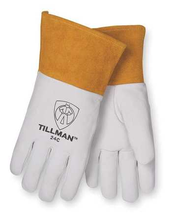 Welding Gloves, TIG, S, 12 In. L, PR