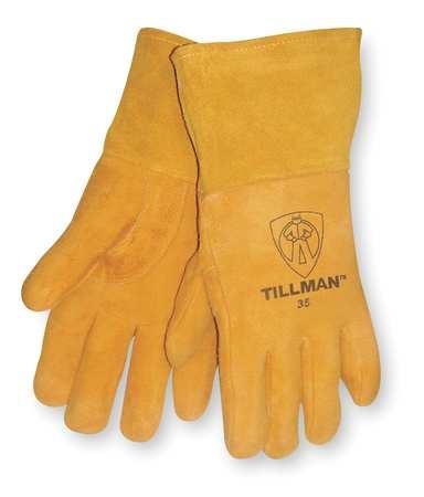 Welding Gloves, MIG, S, 12 In. L, PR