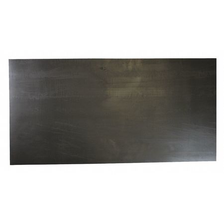 "Rubber Sheet, EPDM, 1/4""Thick, 36""x12"", 60A"