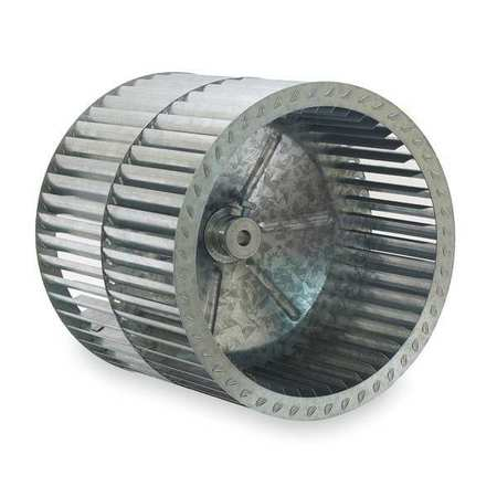 Blower Wheel, Dia 11 In, Bore 1/2 In