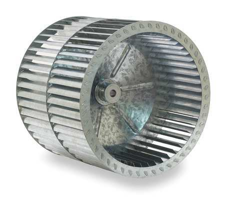 Blower Wheel, Dia 13 In, Bore 5/8 In