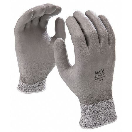 Cut Resistant Gloves, Gray, M, PR