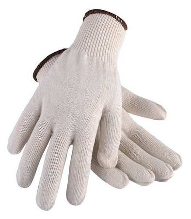 Heavyweight Knit Glove, Poly/Cotton, L, PR