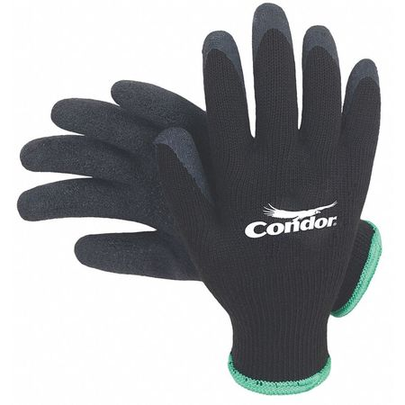 Coated Gloves, M, Black, PR