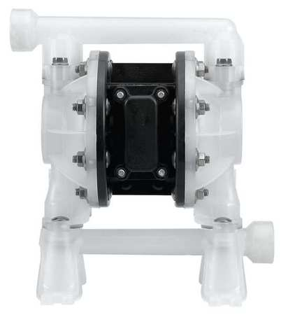 "3/4"" Polypropylene Air Double Diaphragm Pump 15 GPM 150F"