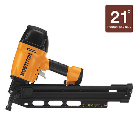 f21pl plastic collated framing nailer round head