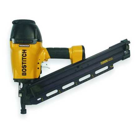Bostitch Air Framing Nailer, Offset Rnd, 28 Deg, Wre F28WW | Zoro.com