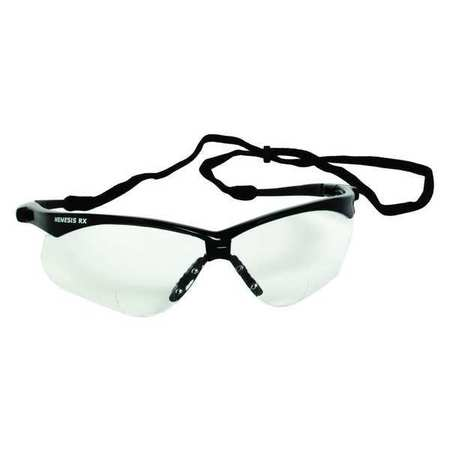 Reading Glasses, +2.0, Clear, Polycarbonate