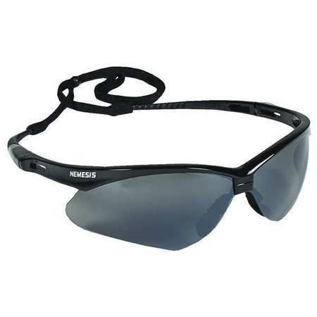 Jackson Smoke Mirror Safety Glasses,  Scratch-Resistant,  Wraparound