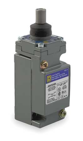 1NC/1NO Heavy Duty Limit Switch Plunger IP 67