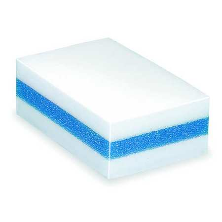 "Sponge, 4-11/32""LMelam Foam, Wh/Blu, PK24"