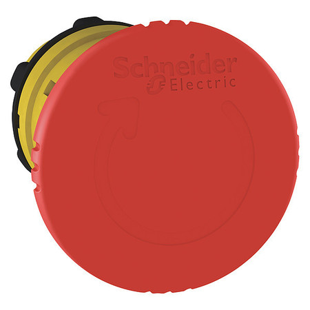 E-Stop Push Button, 22mm, 1NO/1NC, Red