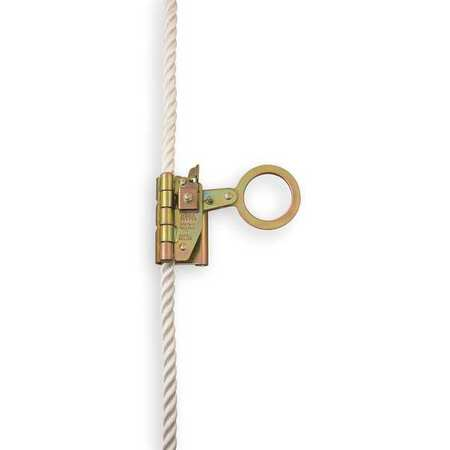 Rope Grab, Steel, Size Fits 5/8 In.