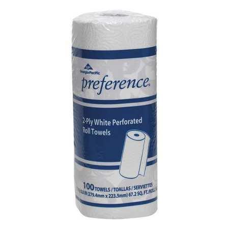 """White Paper Towel Roll 11""""W x 74'L,  30 Rolls"""