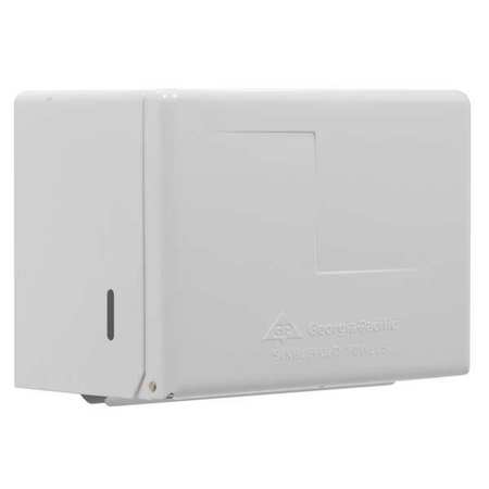 Towel Dispenser, Single Fold, Pull, Steel