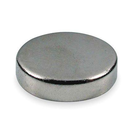 Disc Magnet, Neodymium, 14.5 lb. Pull