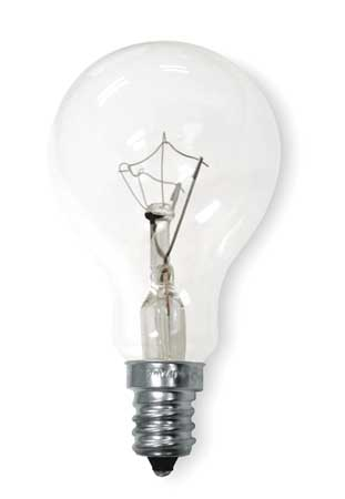 GE LIGHTING 40W,  A15 Incandescent Light Bulb