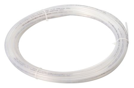 "Tubing, 3/16"" OD, Nylon, Natural, 100 Ft"