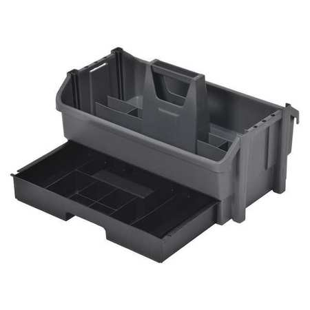 Tool Organizer/Caddy,  Gray w/Black Drawer