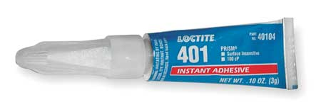 Instant Adhesive, 3g Tube, Clear