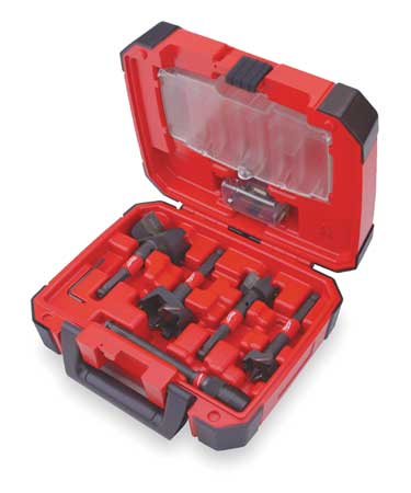 Self-Feed Drill Bit Set, 5 Pc