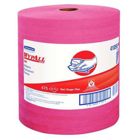 "Wypall Wiper Rolls,  12-1/2"" x 13-2/5"",  475 Sheets/ Pack"