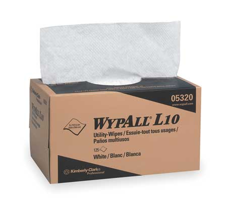 "Disposable Wipes,  9"" x 10-1/4"",  18 Pack,  125 Sheets/ Pack"
