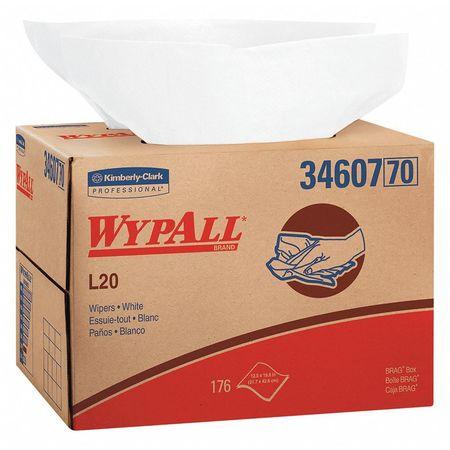 LimitUse Towel BRAG Bx WHT 4Ply 176 Wipe/Bx