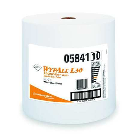 "Wypall Wiper Rolls,  13-3/10"" x 12-2/5"",  950 Sheets/ Pack"