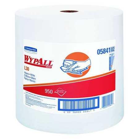 "WypAll L30 Wypall Wiper Rolls,  13-3/10"" x 12-2/5"",  950 Sheets/ Pack"