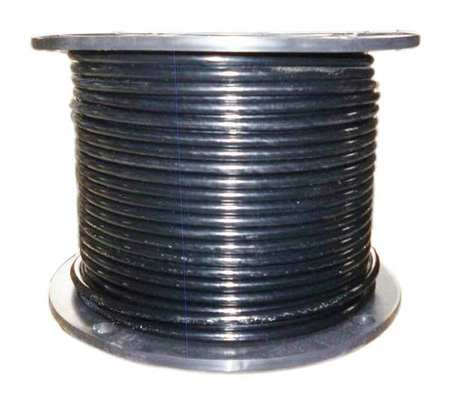 Cable, 1/4 In, L100Ft, WLL1220Lb, 7x7, Steel