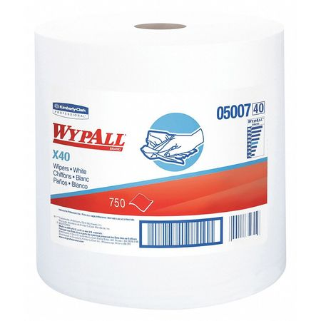 Dispos CleanDry Towel LimitUse WHT 750 Shts/Rl 1/Cs