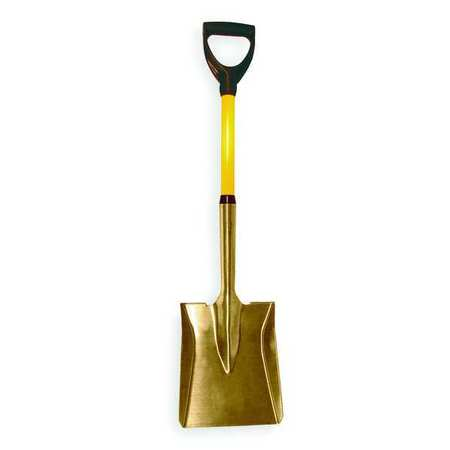Square Shovel, 22 In Handle, 9x11In Blade