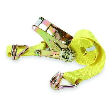 Tie-Down Strap, Ratchet, 15ftx2In, 1666lb