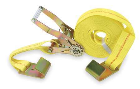 Tie-Down Strap, Ratchet, 30ftx2In, 3333lb
